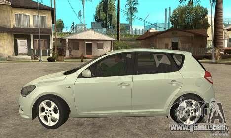 Kia Ceed 2011 for GTA San Andreas left view