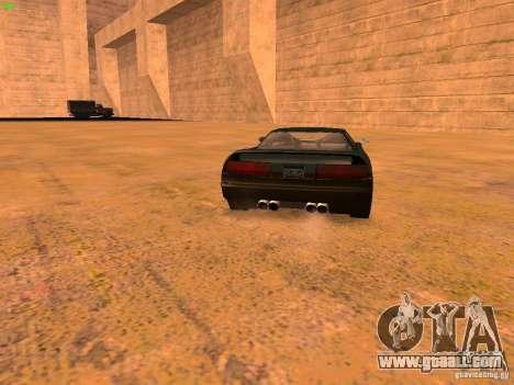 Infernus Revolution for GTA San Andreas interior