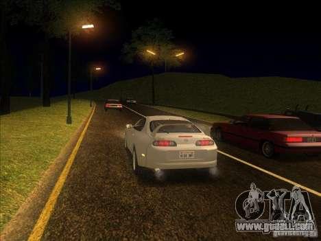 0.075 ENBSeries for weak PC for GTA San Andreas third screenshot