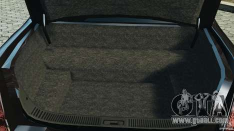 Lincoln Town Car Limousine 2006 for GTA 4 upper view