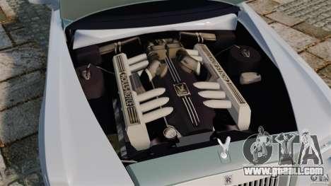 Rolls-Royce Ghost 2012 for GTA 4 inner view