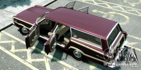 Ford Country Squire for GTA 4 back left view