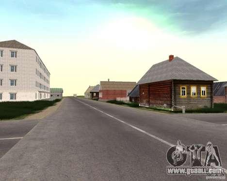 A Prostokvasino for the CD for GTA San Andreas fifth screenshot
