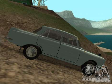 IZH 412 Moskvich for GTA San Andreas back view