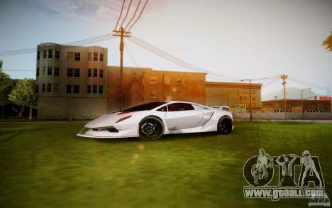 Lamborghini Sesto Elemento for GTA San Andreas left view