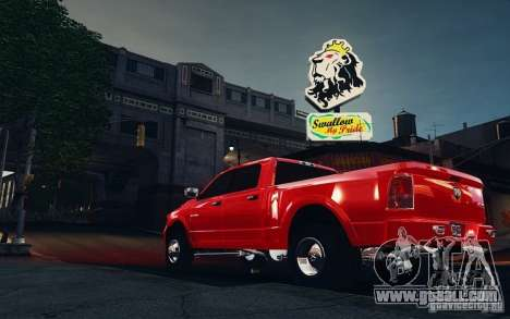 Dodge Ram 3500 Stock Final for GTA 4 back left view