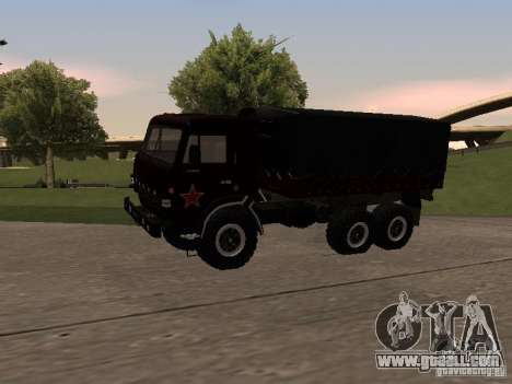 KAMAZ 4310 parade for GTA San Andreas left view