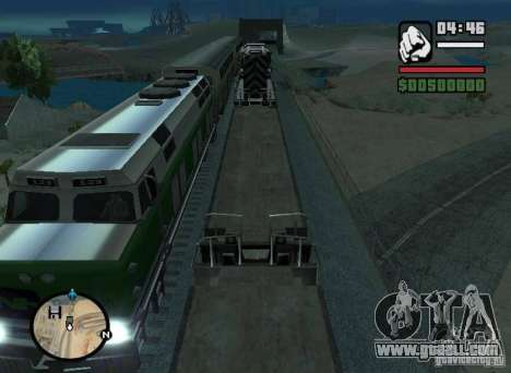Activation (new routes for trains) for GTA San Andreas left view