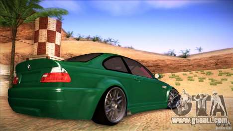 BMW E46 Drift II for GTA San Andreas left view