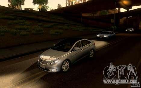 Hyundai Sonata 2011 for GTA San Andreas right view