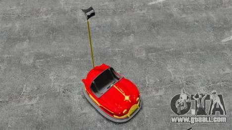 Bumper car for GTA 4 right view