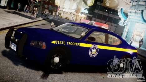 Dodge Charger New York State Trooper CHGR-V2.1M for GTA 4