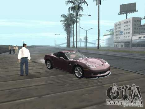 Chevrolet Corvette Grand Sport 2010 for GTA San Andreas right view