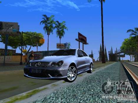 Mercedes-Benz CLK55 AMG for GTA San Andreas