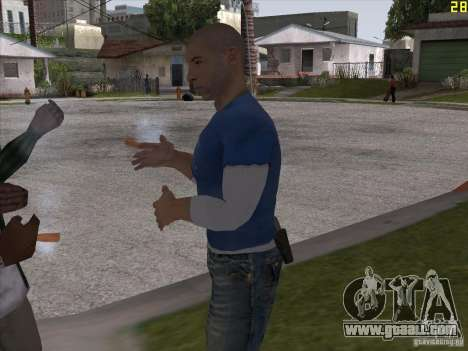 Vin Diesel for GTA San Andreas