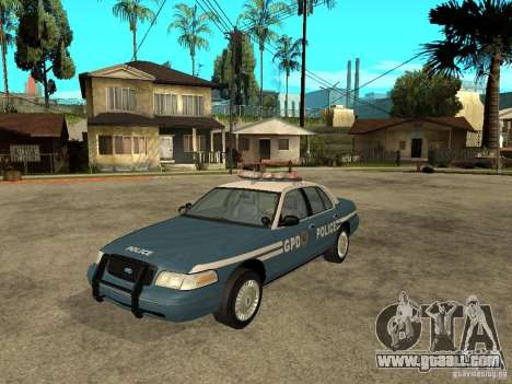 2003 Ford Crown Victoria Gotham City Police Unit for GTA San Andreas