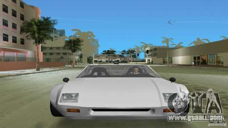 De Tomaso Pantera for GTA Vice City back left view