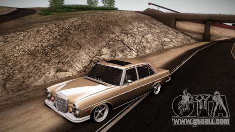 Mercedes Benz 300 SEL - Custom RC3D Edit for GTA San Andreas left view