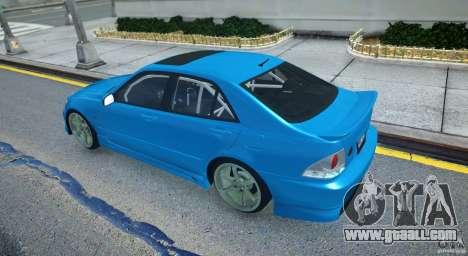 Toyota Altezza for GTA 4 right view