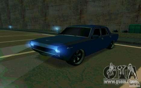GAZ Volga 24 v2 (beta) for GTA San Andreas