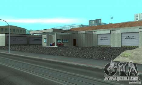 Johnsons Business (Johnsons Auto Service) for GTA San Andreas