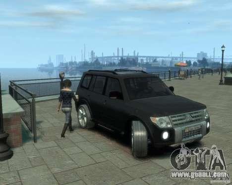 Mitsubishi Pajero for GTA 4 left view