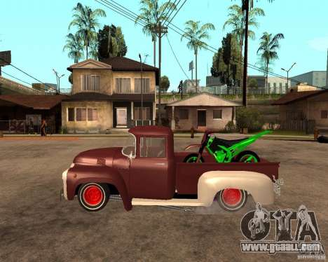 ZIL 130 Fiery Tempe Final for GTA San Andreas left view