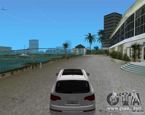 Audi Q7 v12 for GTA Vice City left view