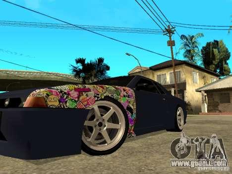 Elegy JDM for GTA San Andreas back left view