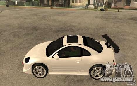Mitsubishi Eclipse 2003 V1.5 for GTA San Andreas left view