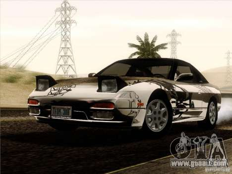 Nissan 240SX S13 - Stock for GTA San Andreas bottom view