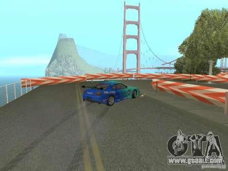 New Drift Track SF for GTA San Andreas fifth screenshot