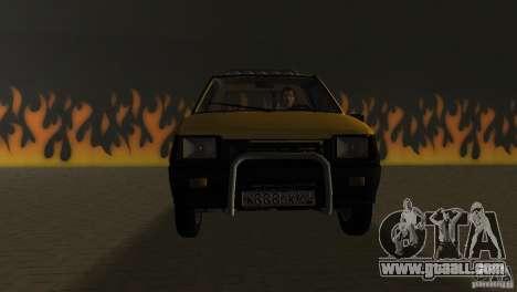 Seaz Pickup for GTA Vice City back view