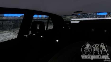 Alfa Romeo 155 Q4 for GTA 4 inner view
