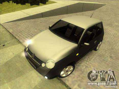 Volkswagen Lupo for GTA San Andreas upper view
