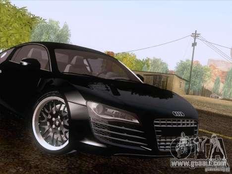 Audi R8 Hamann for GTA San Andreas upper view