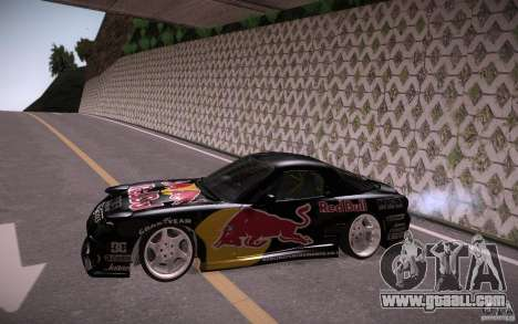 Mazda RX7 Madmikes Redbull for GTA San Andreas left view