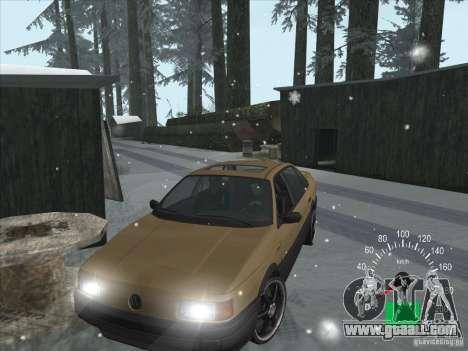 Volkswagen Passat B3 for GTA San Andreas left view