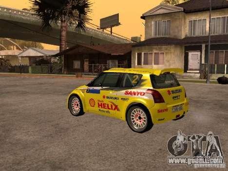 Suzuki Swift Rally for GTA San Andreas right view