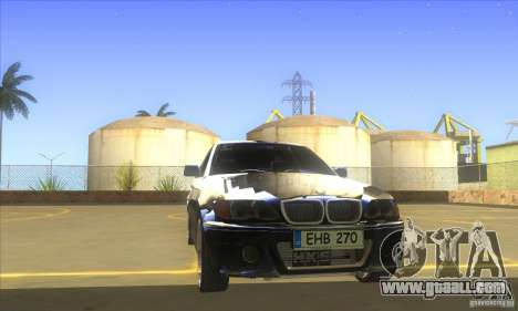 BMW 325i E46 v2.0 for GTA San Andreas inner view