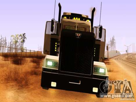Western Star 4900 for GTA San Andreas inner view