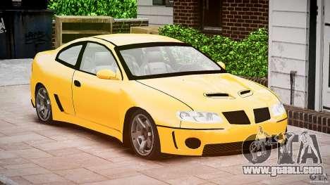 Pontiac GTO 2004 for GTA 4 right view
