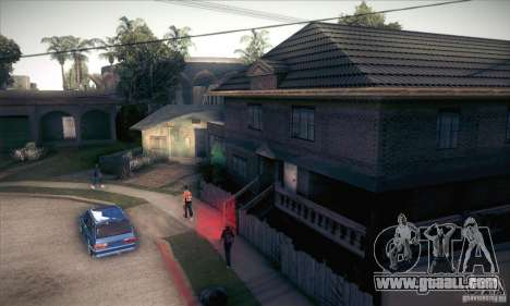 New home CJ for GTA San Andreas fifth screenshot