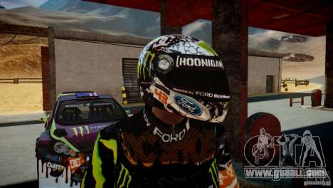 Ken Block Gymkhana 5 Clothes (Unofficial DC) for GTA 4 sixth screenshot