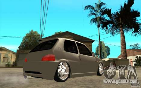 Peugeot 106 Reptile for GTA San Andreas right view