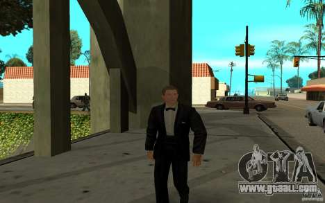 Agent 007 for GTA San Andreas