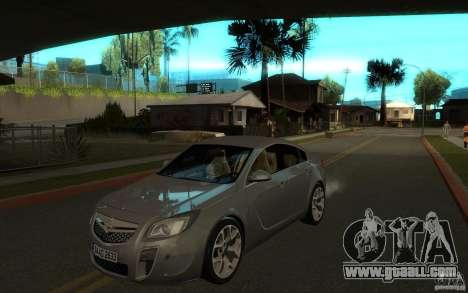 Opel Insignia 2011 for GTA San Andreas