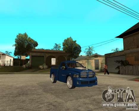 Dodge RAM SRT-10 for GTA San Andreas right view