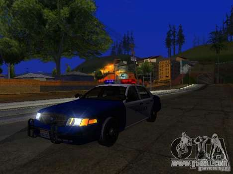 Ford Crown Victoria Belling State Washington for GTA San Andreas side view