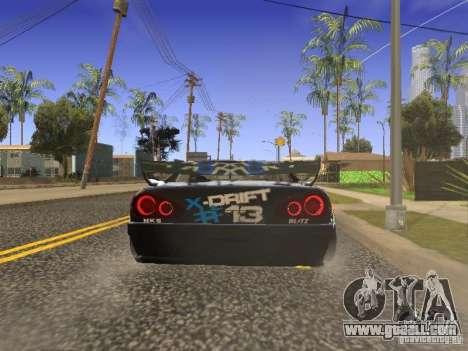 Elegy Drift Korch v2.1 for GTA San Andreas back left view
